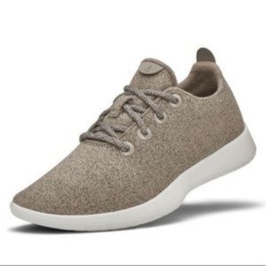 Allbirds Wool Runners Birch Tan Sneakers Shoe 11